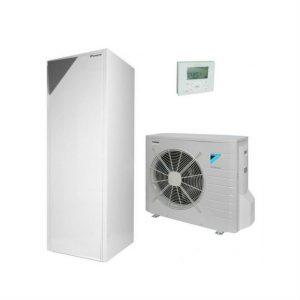 Daikin ALTHERMA ERLQ011CW1 + EHVH11S26CB9W šildymas 11,38 kW integruota 260l talpa