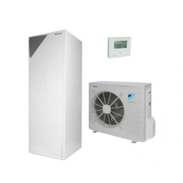 Daikin ALTHERMA ERLQ016CW1 + EHVH16S26CB9W šildymas 16,10 kW su integruota 260 l talpa