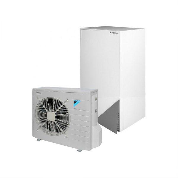Daikin ALTHERMA ERLQ008CV3 + EHBH08CB9W šilumos siurbliai oras-vanduo su 9 kW tenu šildymas 10,02 kW