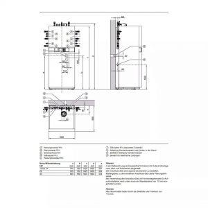 Vitodens-222-F Techniniai Duomenys