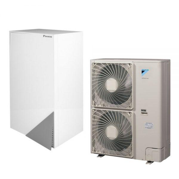 Daikin ALTHERMA ERLQ014CW1 + EHBH16CB3V šilumos siurbliai oras-vanduo 14,55 kW