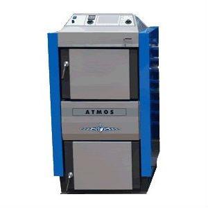 Atmos DC100 plieninis dujų generacinis kieto kuro katilas 99 kW
