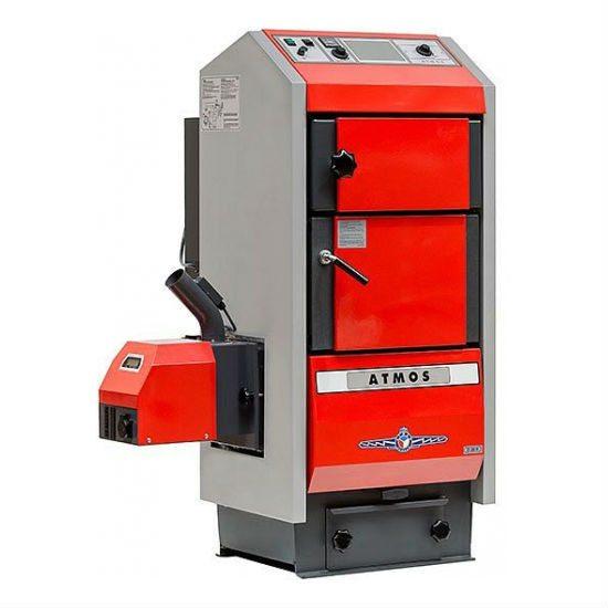 Granulinis kieto kuro katilas Atmos D40P 8,9-40 kW