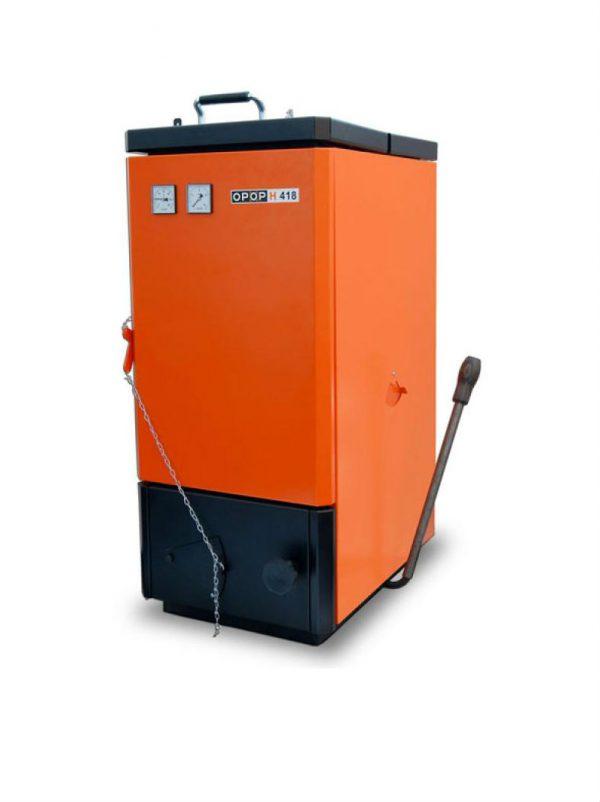 Plieninis kieto kuro katilas OPOP H 412 11-14 kW