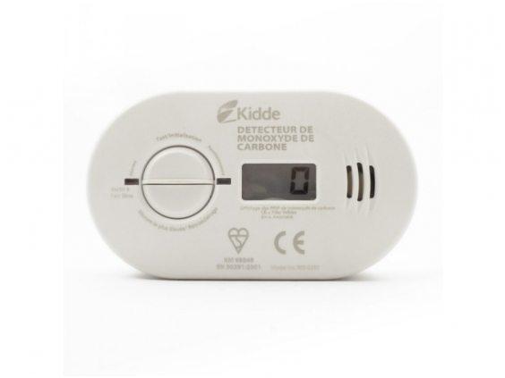 KIDDE 5DCOAnglies Monoksido Detektorius su Skaitmeniniu Ekranu