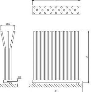 Deltacalor Bambu radiatorius.