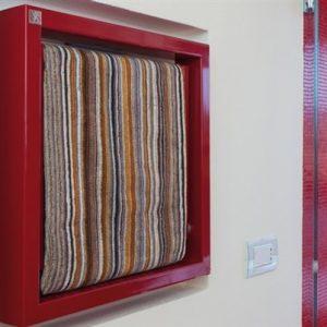 Deltacalor Towel Box radiatorius. Uždarytas.