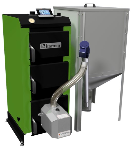 Granulinis katilas Kamen Pellet Plus 25 kW