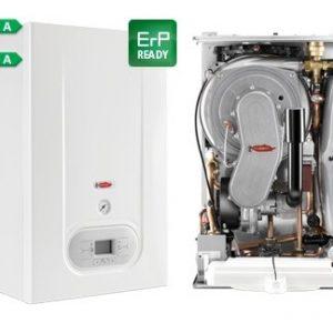 Radiant R2KA 34/20 kondensacinis dujinis katilas su integruotu vandens šildytuvu 20l, 34 kW