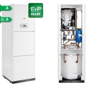 Kondensacinis dujinis katilas Radiant R2KA 28/100 25 kW su integruotu vandens šildytuvu 100l