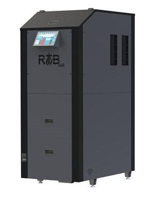 Granulinis daniškas karšto oro generatorius RTB Air 26,9 kW