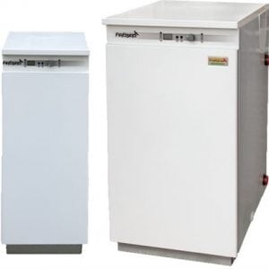 Skysto kuro kondensacinis katilas FIREBIRD ENVIROMAX Kitchen 58 - 73 kW
