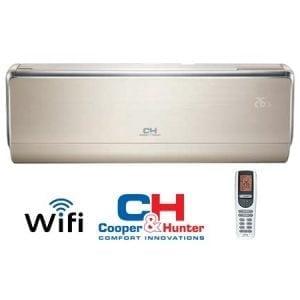Cooper&Hunter VIP Inverter CH-S12FTXHV-B šilumos siurblys oras-oras šildymas 3,70 kW