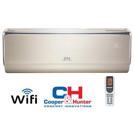 Cooper&Hunter VIP Inverter CH-S18FTXHV-B oro kondicionierius/šilumos siurblys šildymas 5,60 kW