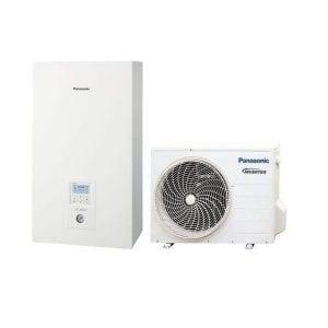 Panasonic Bi-Bloc WH-SDC0305J3E5/WH-UD03JE5 freonas R32 vienfazis 3 kW