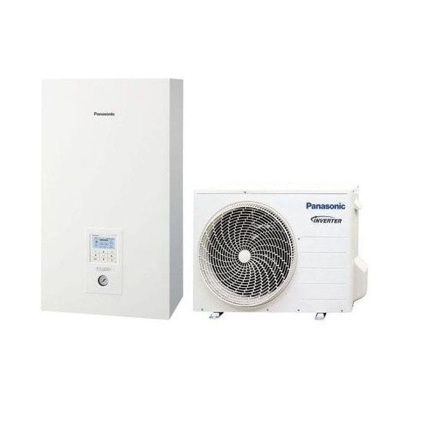 Panasonic Bi-Bloc WH-SDC03J3E5/WH-UD03JE5 freonas R32 vienfazis 3 kW
