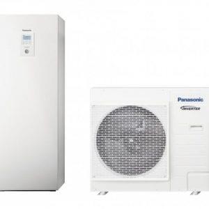 """Panasonic """"Aquarea"""" WH-ADC0309H3E5B/WH-UD03HE5-1 2 zonų, šildymas 3 kW"""