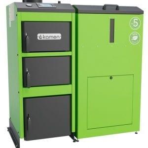 Granulinis katilas Kamen Pellet Kompakt Lux 17 kW