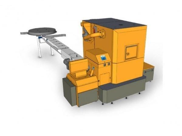 Pramoninis biomasės katilas CATfire HAMONT 199 kW